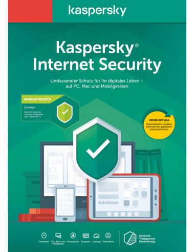 Kaspersky Internet Security 1PC